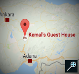 Kaart - Kemal's Guest House - Turkije