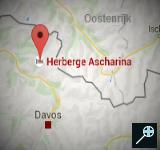 Kaart Herberge Ascharina