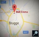 BE - 3 Kaart B&B Emma - Brugge (160 x 150)