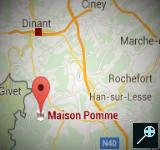 BE - Kaart Maison Pomme