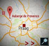 CZ - Auberge de Provence kaart