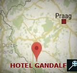 Kaart Hotel Gandalf