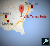 IT - Kaart Villa Teresa - Sicilie