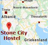 Kaart Stone City Hostel