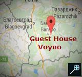 BG - Guest House Voyno (kaart)