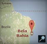 Kaart Bela Bahia