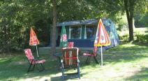 Camping Máré Vára (ingerichte tent)