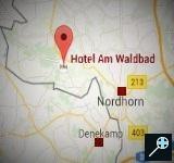 Kaart Am Waldbad Hotel