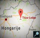 HU - Kaart Tisza Lodge - Hongarije