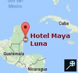 Hotel Maya Luna (kaart)