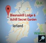 IR - Kaart Bleanaskill Lodge - Ierland