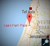 ISR - Kaart Lisa's Farm Place - Israel