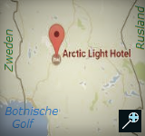Kaart Artic Light Hotel - Lapland - Finland