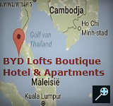 Kaart BYD Lofts Boutique Hotel - Phuket - Thailand
