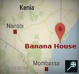 Kaart Banana House - Kenia