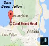 Kaart Coral Strand Smart Choice - Seychellen