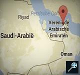 Kaart Dubai Park Hyatt - Dubai