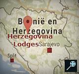 Kaart Herzegovina Lodges