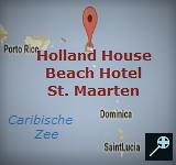 Kaart Holland House Beach Hotel - St. Maarten