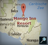 Kaart Hotel Mango Inn - Honduras