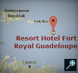 Kaart Langley Resort Hotel Fort Royal - Guadeloupe