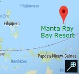 Kaart Manta Ray Bay Resort