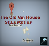 Kaart The Old Gin House - St.Eustatius