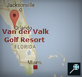 Kaart Van der Valk Golf Resort Inverness -Florida - Verenigde-Staten