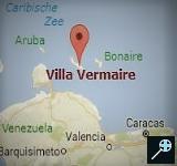 Kaart Villa Vermaire - Curaçao