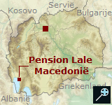 Kaart Pension Lale - Macedonie