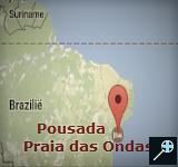 Pousada Praia das Ondas (kaart)