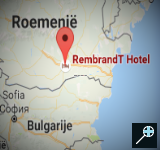 RO - Kaart Rembrandt Hotel - Boekarest - Roemenië