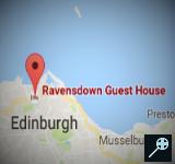 UK - Kaart Ravensdown Guest House - Schotland